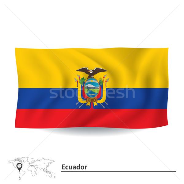 Flag of Ecuador Stock photo © ojal
