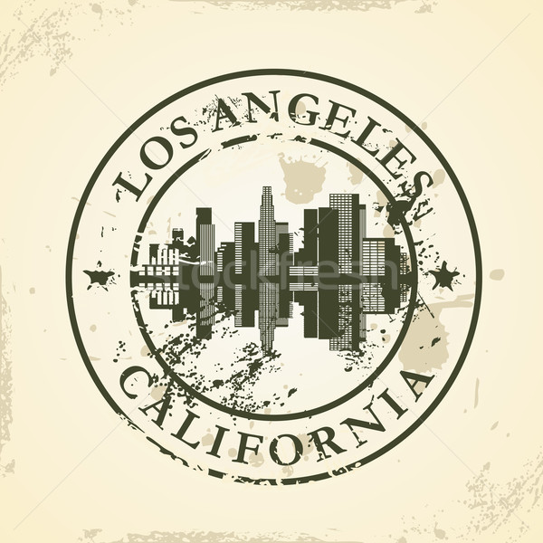 Grunge Los Angeles Californië kantoor zon Stockfoto © ojal