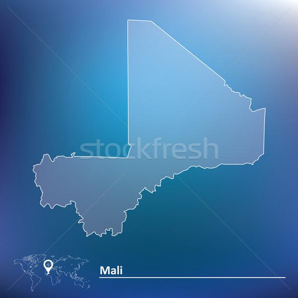 Stock photo: Map of Mali