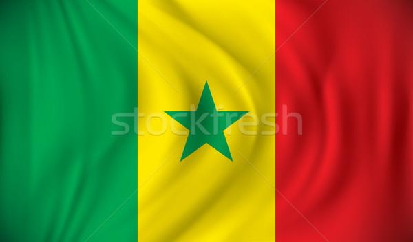 Flag of Senegal Stock photo © ojal