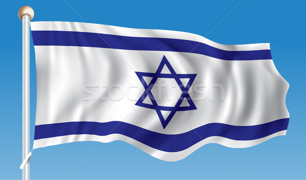 Flag of Israel Stock photo © ojal