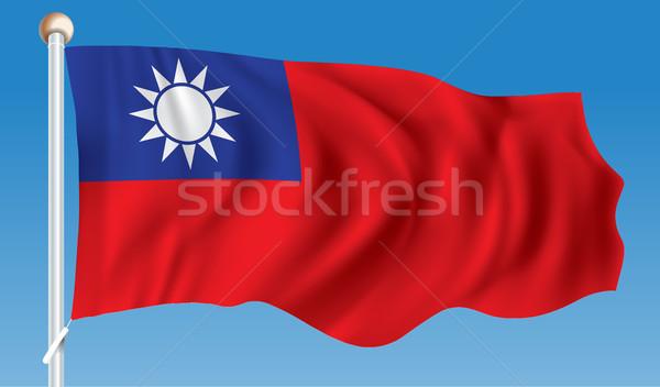 Flag of Taiwan Stock photo © ojal