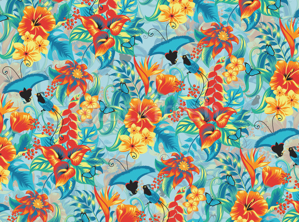 Tropical pattern Stock photo © oksanika