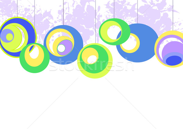 Колеса Круги окрашенный Purple аннотация Сток-фото © Oksvik