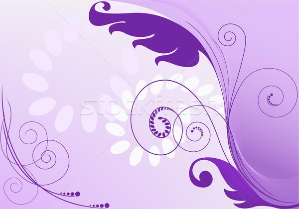 purple abstract background Stock photo © Oksvik