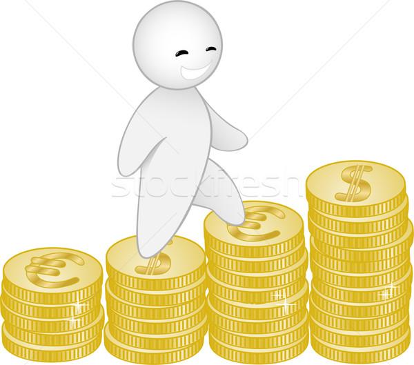 man and money Stock photo © Oksvik