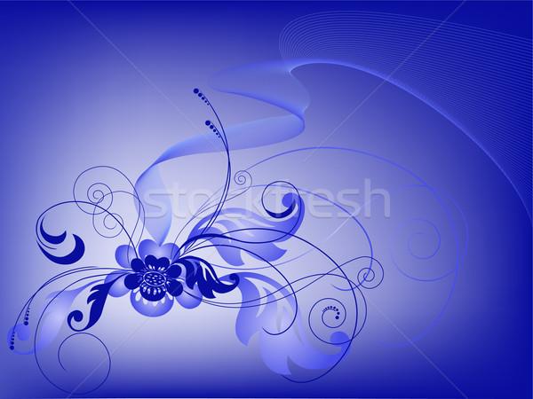 blue bouquet Stock photo © Oksvik