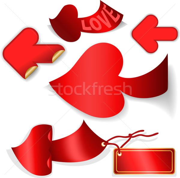 red arrows Stock photo © Oksvik