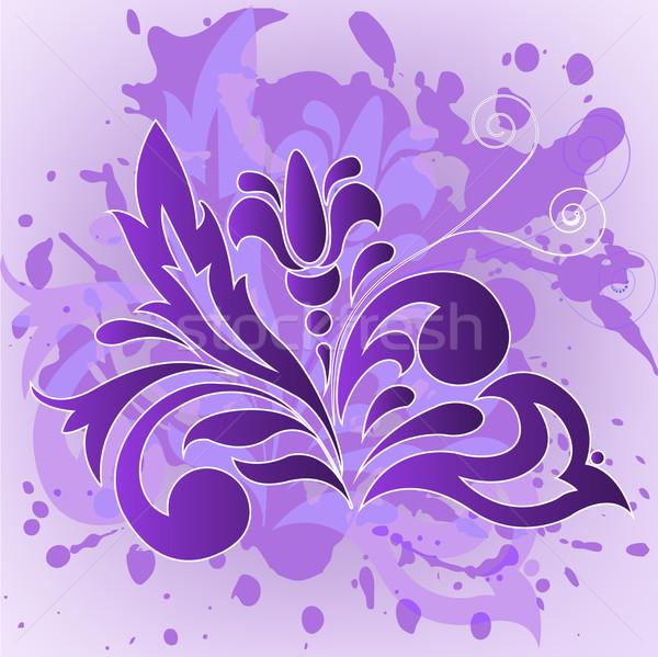 сирень цветок спрей аннотация дизайна Сток-фото © Oksvik