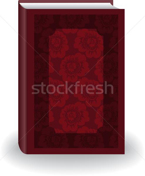 красный книга красивой большой цветы Сток-фото © Oksvik