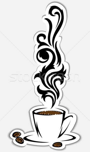Stock photo: coffee cup