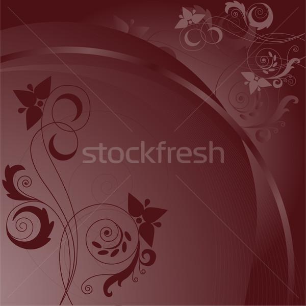 abstract brown background Stock photo © Oksvik