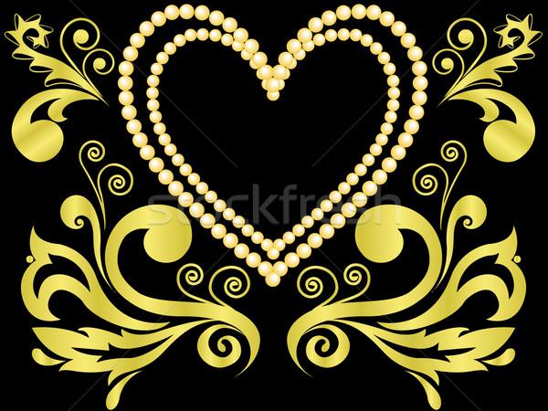 heart of gold Stock photo © Oksvik
