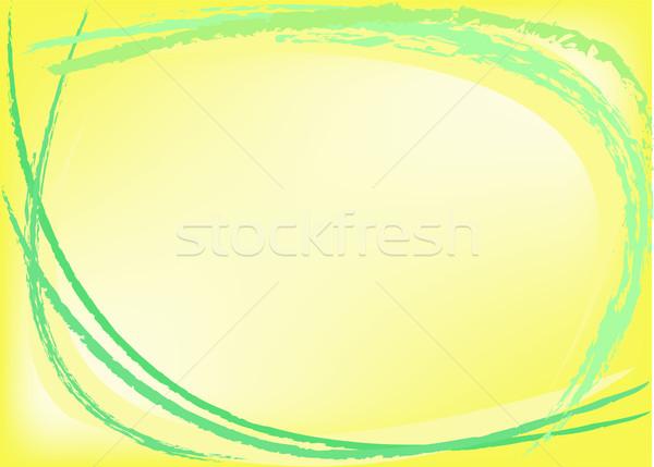 abstract yellow background Stock photo © Oksvik