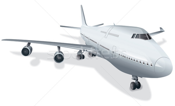 big passenger airplane Stock photo © olegtoka