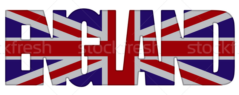 Angleterre pays illustration signe Voyage Union Photo stock © olegtoka