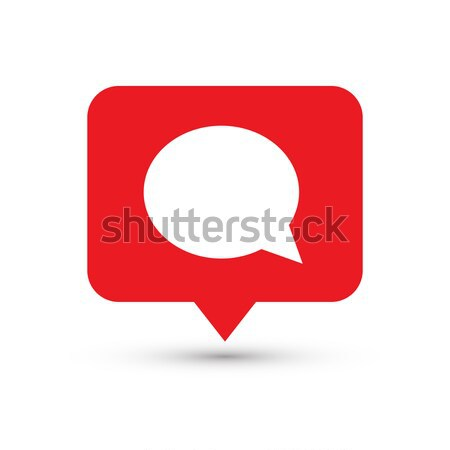 Social media icon comments. Comment button, symbol, sign. Message sign, post symbol Stock photo © olehsvetiukha