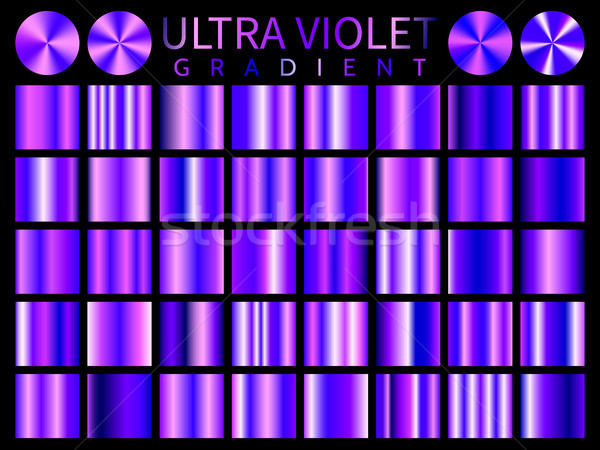 Ultra Violet background texture vector icon seamless pattern. Light, realistic, elegant, shiny gradi Stock photo © olehsvetiukha