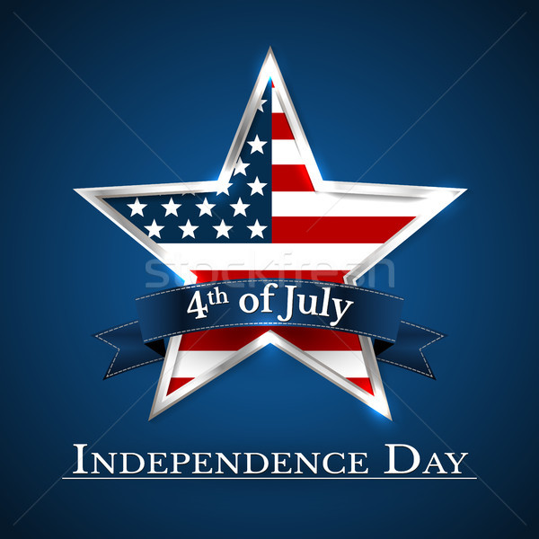 U.S.A INDEPENDENCE DAY VECTOR ILLUSTRATION Stock photo © olehsvetiukha