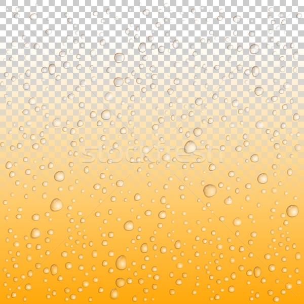 Сток-фото: пива · капли · стекла · вектора · капли · воды · дождь