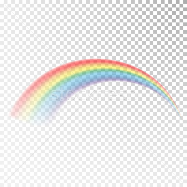 Rainbow icon. Colorful light and bright design element for decorative. Abstract rainbow image. Vecto Stock photo © olehsvetiukha