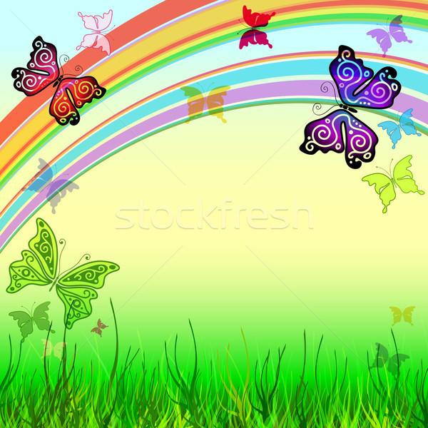 Spring vivid background  Stock photo © OlgaDrozd