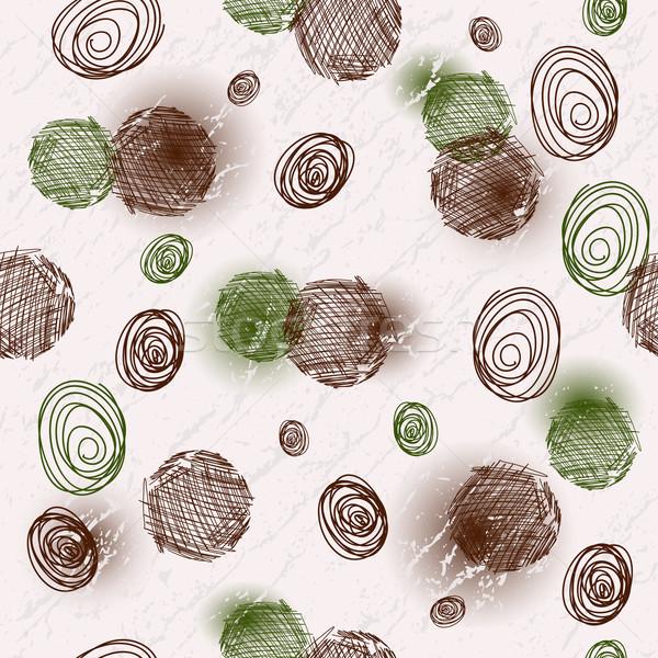 Seamless spotty grungy pattern Stock photo © OlgaDrozd