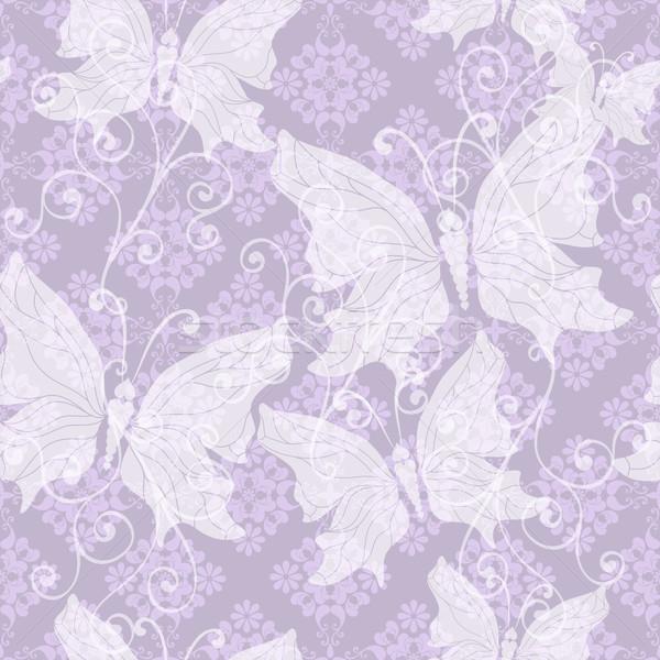 Gentle floral pattern Stock photo © OlgaDrozd