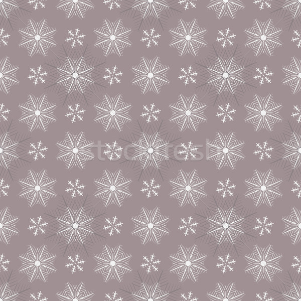 Seamless pastel christmas pattern Stock photo © OlgaDrozd