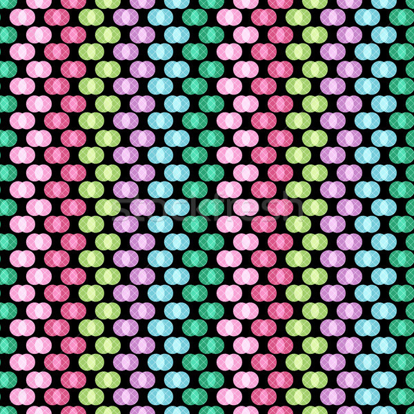 Seamless pattern with polka dots   Stock photo © OlgaDrozd