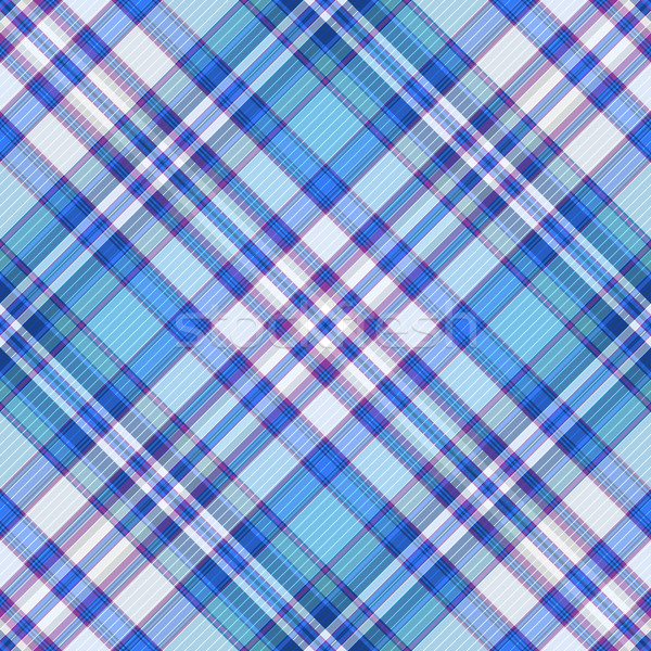 Seamless blue, violet and white diagonal pattern Stock photo © OlgaDrozd