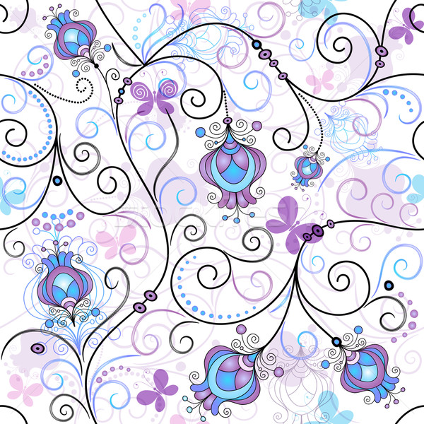 Spring seamless pattern Stock photo © OlgaDrozd