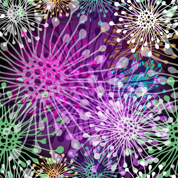 Seamless vivid spotty pattern Stock photo © OlgaDrozd