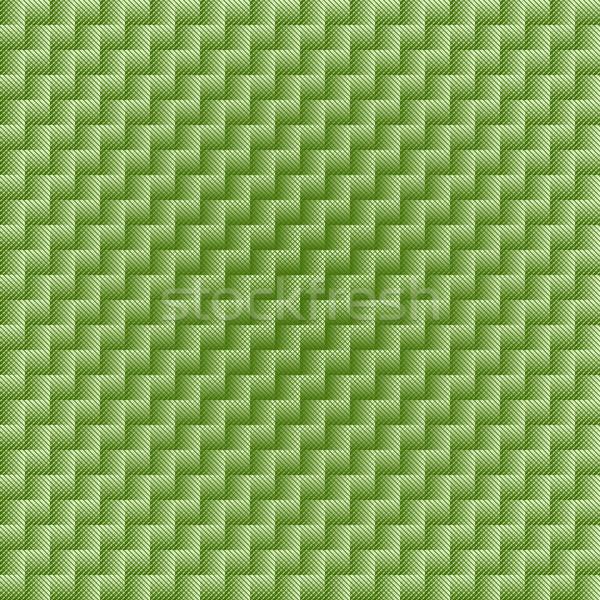 Green seamless checkered pattern Stock photo © OlgaDrozd