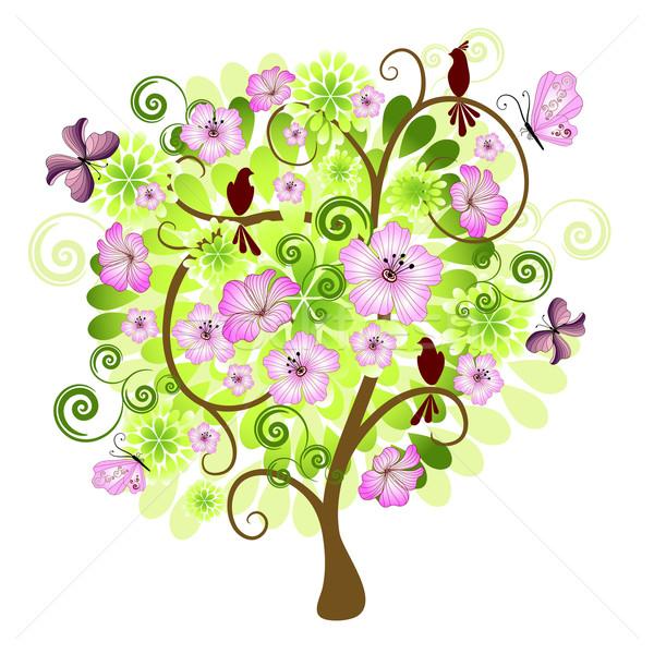 Декоративные цветы-деревья