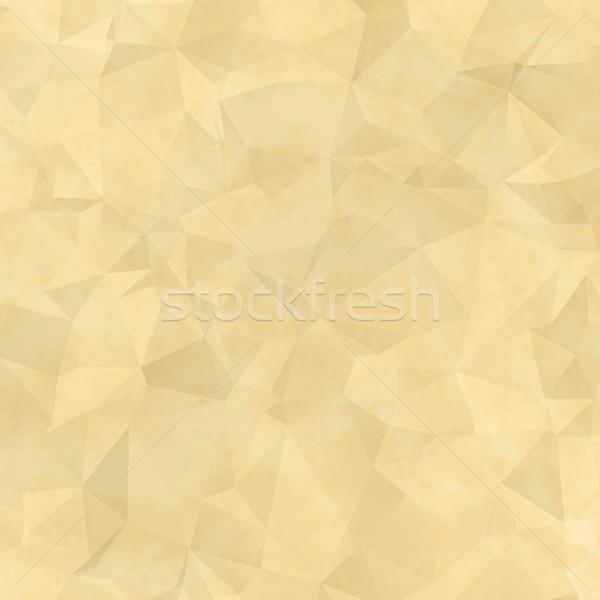 Old spotty paper. Trendy frame Stock photo © OlgaDrozd