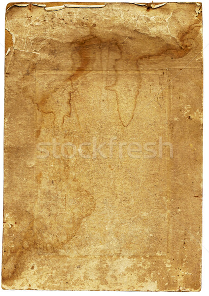 Dirty page of the old album for pictures Stock photo © OlgaDrozd