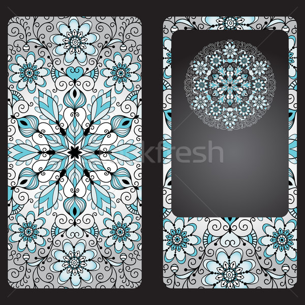 Cover for a mobile phone in vintage style Stock photo © OlgaDrozd