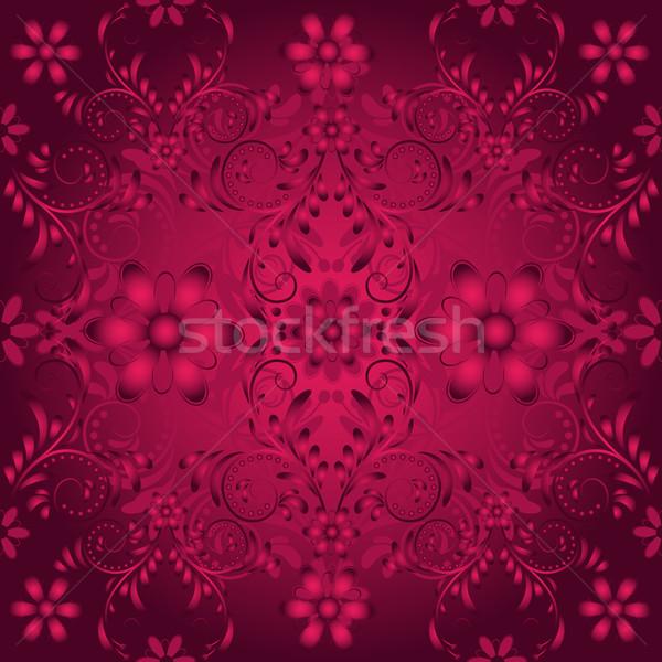 Seamless floral  vinous pattern Stock photo © OlgaDrozd