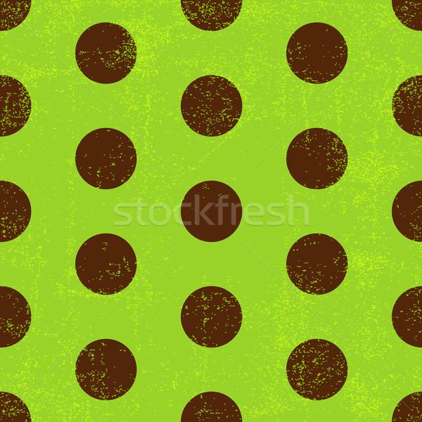 Photo stock: Vert · modèle · brun