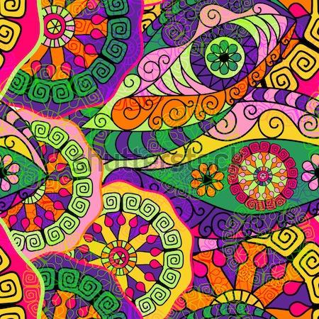 Seamless colorful pattern Stock photo © OlgaDrozd