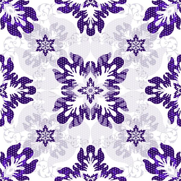 Foto stock: Branco · violeta · flores