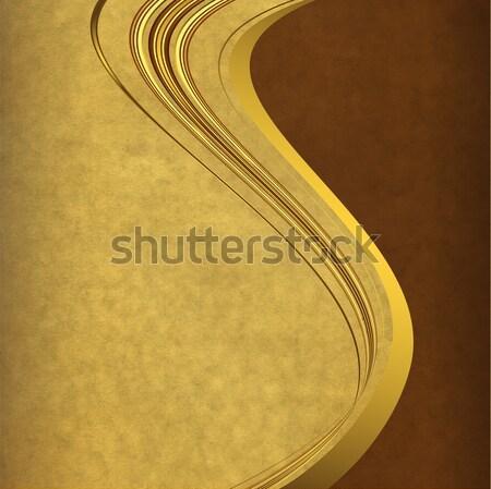 Vintage paper frame Stock photo © OlgaDrozd