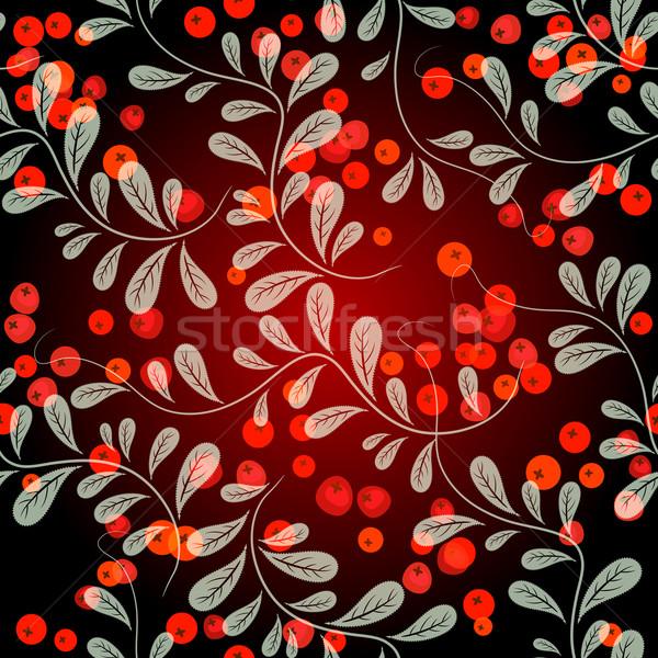 Autumn seamless pattern Stock photo © OlgaDrozd