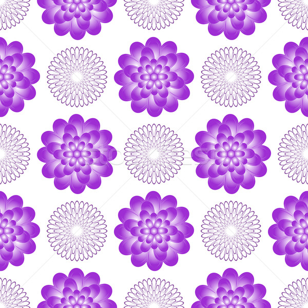 Seamless gentle pattern with vintage flowers Stock photo © OlgaDrozd