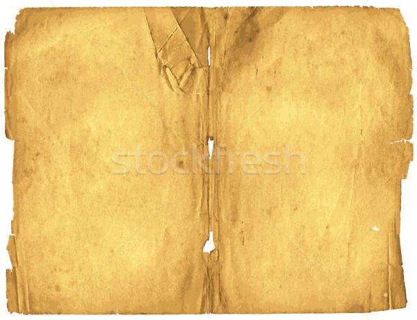 Old spotty grunge paper  Stock photo © OlgaDrozd