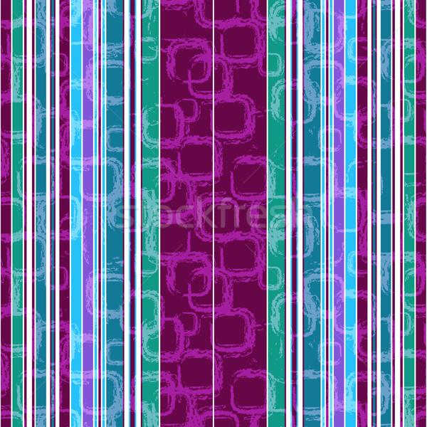 Sin costura a rayas patrón sucio colorido Foto stock © OlgaDrozd