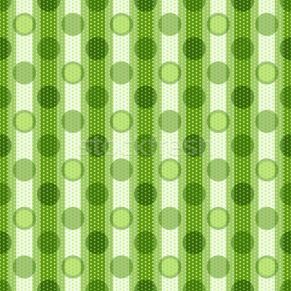 Seamless spotty striped pattern Stock photo © OlgaDrozd