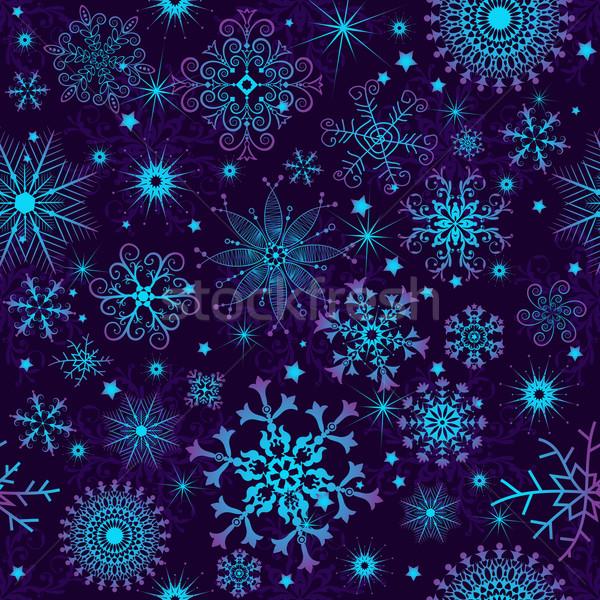 бесшовный фиолетовый красочный градиент Сток-фото © OlgaDrozd