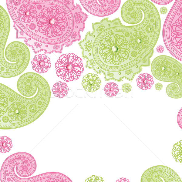 Paisley Designs. Stock photo © OlgaYakovenko